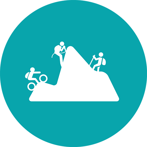 Climbing - Mountainbike - Trekking - Senderismo - Escalada graphic